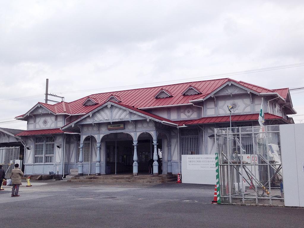 浜寺公園駅舎