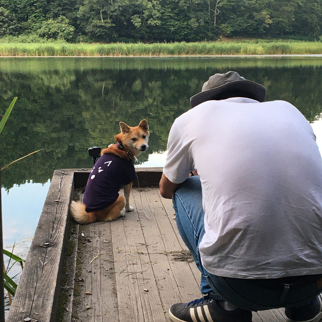 犬と龍王ヶ淵